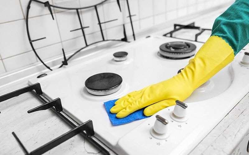 تمیز کردن انواع اجاق گازها